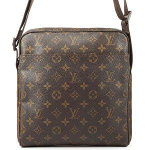 Auth Louis Vuitton Trotteur Beaubourg #4101L24